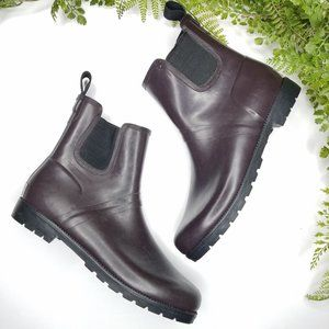 Cole Haan sporting ankle rain boots